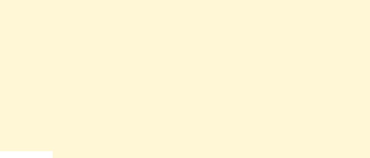 Geometrische Form helles Gelb