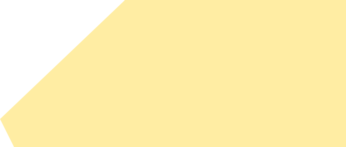 Geometrische Form dunkles Gelb